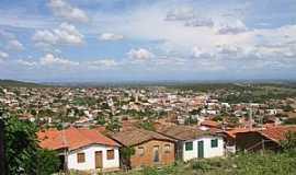 Macaúbas - Macaúbas-BA-Vista da cidade-Foto:João Fontoura