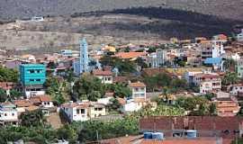 Macaúbas - Macaúbas-BA-Vista do centro da cidade-Foto:adao p da silva