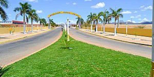 Imagens da cidade de Macaúbas - BA