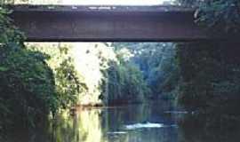 Pratos - Ponte sobre o Rio Pratos-Foto:carlos.edu