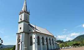 Presidente Lucena - Presidente Lucena-RS-Igreja Três Mártires Riograndenses-Foto:Roque Oliveira