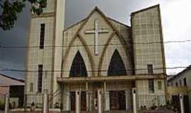 Quaraí - Quaraí-RS-Igreja Matriz de São João Batista-Foto:Gilberto Martini Ref…