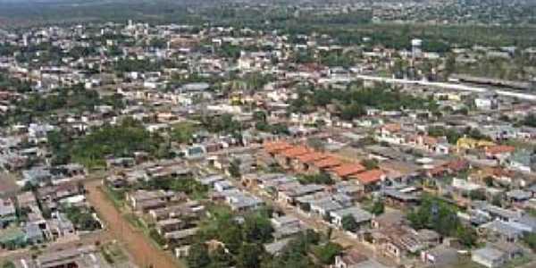 Quaraí: Visão aérea - Foto Prefeitura Municipal