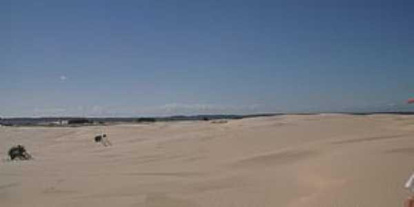 Quintão-RS-Dunas na Praia de Santa Rita-Foto:ruttscheidt