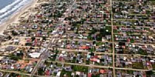 Vista aérea parcial de Quintão-RS-Foto:lenhard_rs