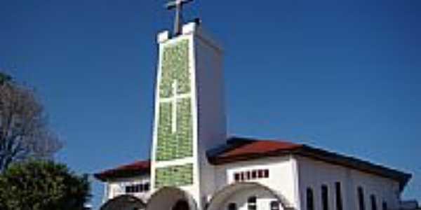 Matriz de Cristo Redentor em Redentora-Foto:Vicente A. Queiroz