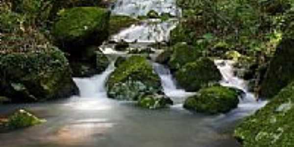 Riacho no interior de Relvado-Foto:Eder Dartora