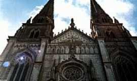 Rio Grande - Igreja do Carmo,Templo Neo-Gótico,em Rio Grande-RS