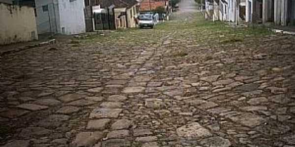 Rio Pardo-RS-Rua da Ladeira-Foto:Ubirajara Buddin Cruz