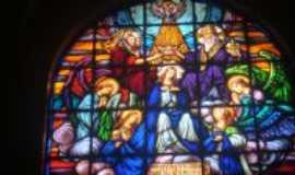 Roca Sales - Vitrais Igreja Matriz de São José - Roca Sales, Por Adilar Signori