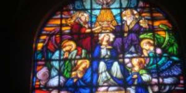 Vitrais Igreja Matriz de São José - Roca Sales, Por Adilar Signori