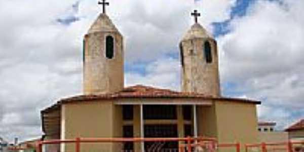 Matriz do Senhor Bom Jesus em Malhada de Pedras-BA-Foto:Vicente A. Queiroz
