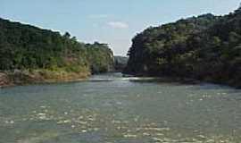 Salto do Jacu� - Vista � partir da Usina-Foto:edegarts