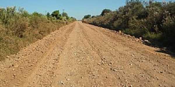 Santa Flora-RS-Estrada da região-Foto:www.santamaria.rs.gov.br