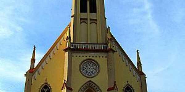 Santa Maria do Herval-RS-Matriz de N.Sra.Auxiliadora-Foto:Angelo Chiabotto Viacava