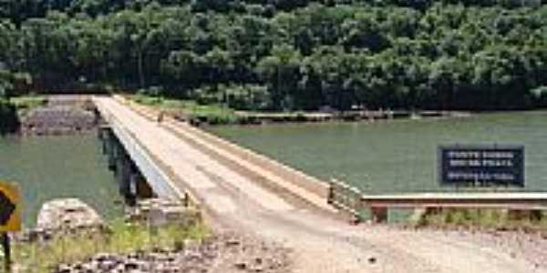 Ponte sobre o Rio da Prata-Foto:Edilson Benvenutti