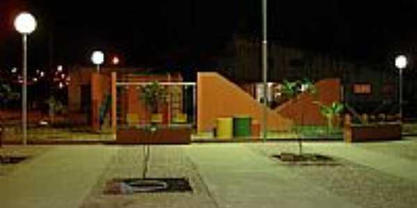Flexeiras-AL-Praça Dr.Arnaldo Cavalcante Magalhães-Foto:flexeirasweb
