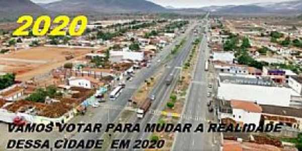Imagens da cidade de Manoel Vitorino - BA