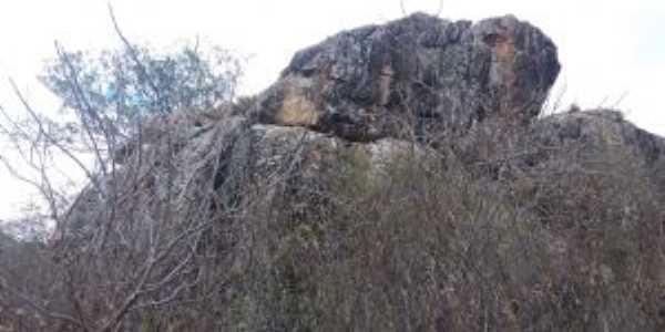 Pedra da Figura - Manoel Vitorino BA, Por Renata Ribeiro
