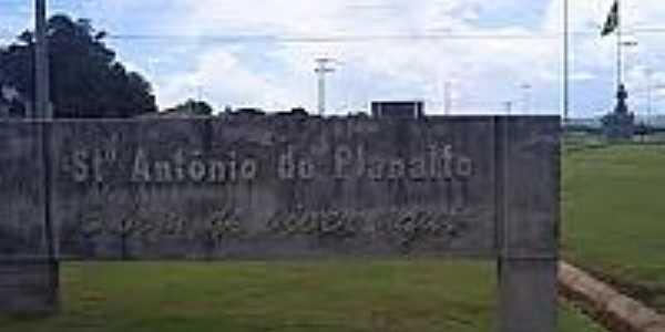 Entrada da cidade de Santo Antônio do Planalto-Foto:pt.db-city.