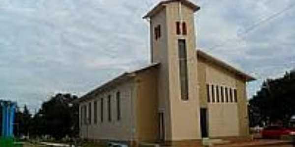 Igreja Luterana de Santo Antônio do Planalto-Foto:luteranos.