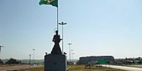 Trevo de acesso de Santo Antônio do Planalto-Foto:e-trance