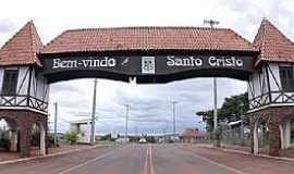 Santo Cristo - Santo Cristo-RS-Pórtico de entrada-Foto:www.vidanosul.com.br
