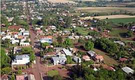 Santo Cristo - Santo Cristo-RS-Vista aérea da Rua Marechal Floriano-Foto:luanderj