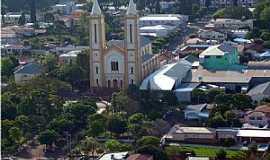 Santo Cristo - Santo Cristo-RS-Vista do centro da cidade-Foto:luanderj
