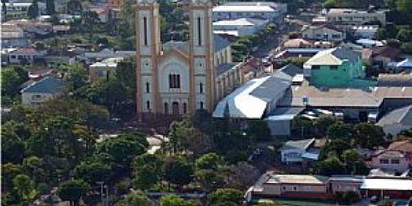 Santo Cristo-RS-Vista do centro da cidade-Foto:luanderj