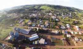Santo Expedito do Sul - Imagem aérea da cidade de Santo Expedito do Sul - Por Bruna Belusso
