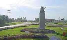 São Borja - Trevo de entrada de São Borja-Foto:institutohellinger.