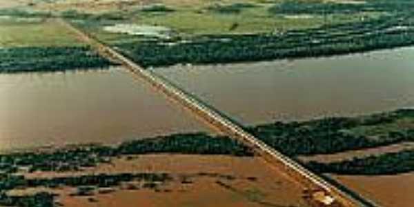 Ponte Internacional sobre o Rio Uruguai em São Borja-Foto:riogrande.