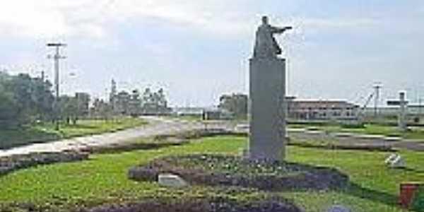 Trevo de entrada de São Borja-Foto:institutohellinger.