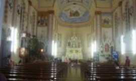 São Domingos do Sul - Interior da Igreja de São Domingos, Por Lauro Antonio Finatto