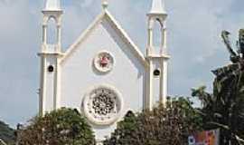 Mar Grande - Igreja de Mar Grande-BA-Foto:Draken