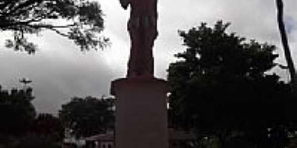 Praça do Índio em Maracás-BA-Foto:Lié Pedreira