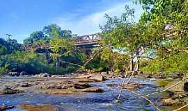 São José do Hortêncio - Ponte de ferro Eng. Daniel Ribeiro. Foto: Jaqueline Hartmann.
