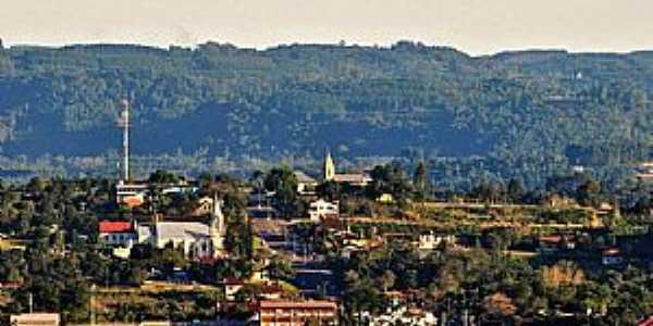 Vista parcial de São José do Hortêncio RS  Foto: Diego Carraro.