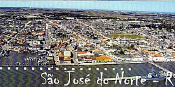 Imagens da cidade de São José do Norte - RS