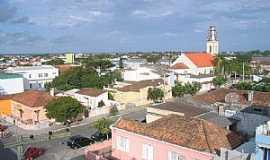 São Lourenço do Sul - São Lourenço do Sul-RS-Vista do centro da cidade-Foto:Henrique de BORBA