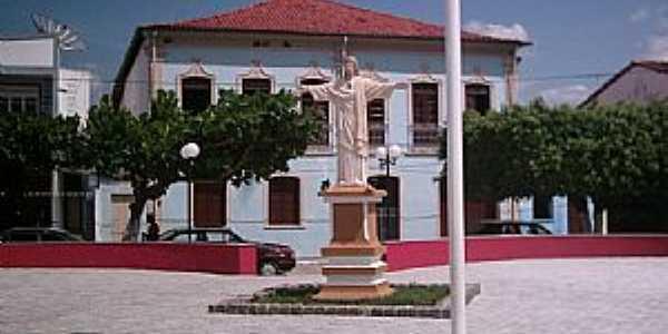 Maragogipe-BA-Casa Paroquial e Praça-Foto:Zevaldo Luiz Rodrigues
