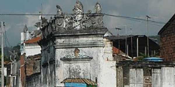 Maragogipe-BA-Mural no Centro Histórico-Foto:Rafael José Rorato