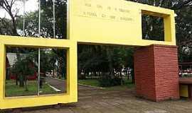 São Luiz Gonzaga - São Luiz Gonzaga-RS-Pórtico da Praça da Matriz-Foto:Flávio Tissot