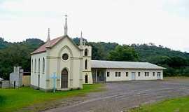 São Marcos - São Marcos-RS-Capela de Santo Henrique no Distrito de Tiradentes-Foto:Fabiano M.