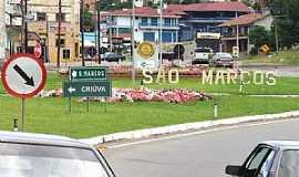São Marcos - São Marcos-RS-Entrada da cidade-Foto:Sidnei José Romano