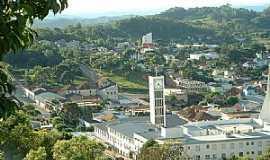São Marcos - São Marcos-RS-Vista do centro da cidade-Foto:Sidnei José Romano