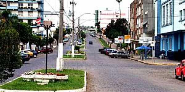 São Marcos-RS-Avenida Venâncio Aires-Foto:Sidnei José Romano