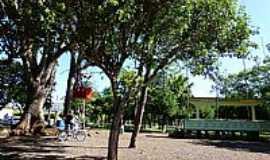 São Martinho - São Martinho-RS-Coreto na Praça Central-Foto:Ubirajara Buddin Cruz