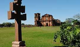 São Miguel das Missões - São Miguel das Missões-RS-Antiga Catedral de São Miguel Arcanjo-Foto:Zelia Waltrick